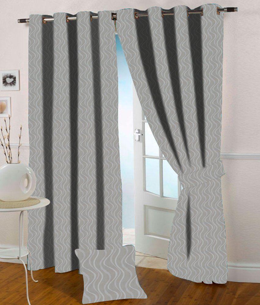 Presto Single Window Eyelet Curtain Contemporary