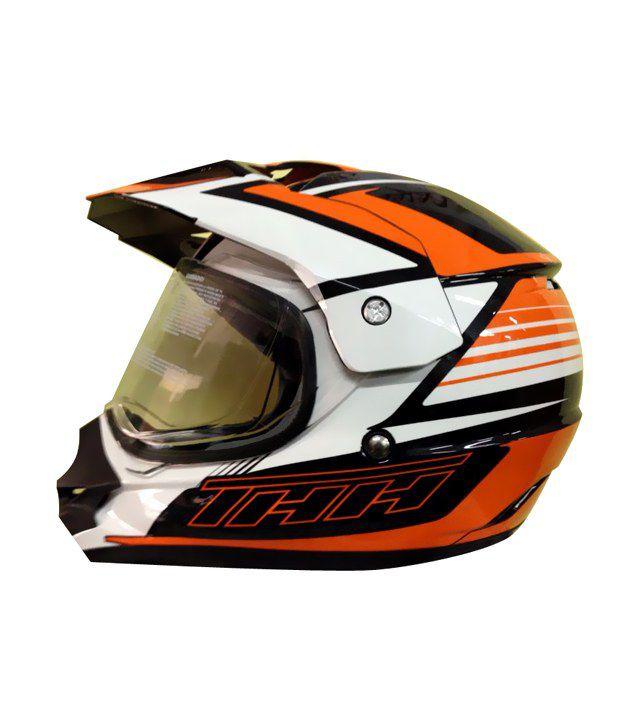 THH TX-24 Plain Motocross Helmet