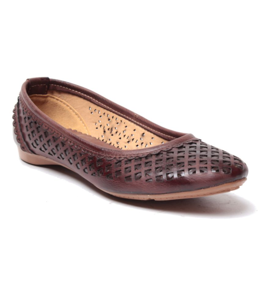 Anand Archies Brown Ballerinas