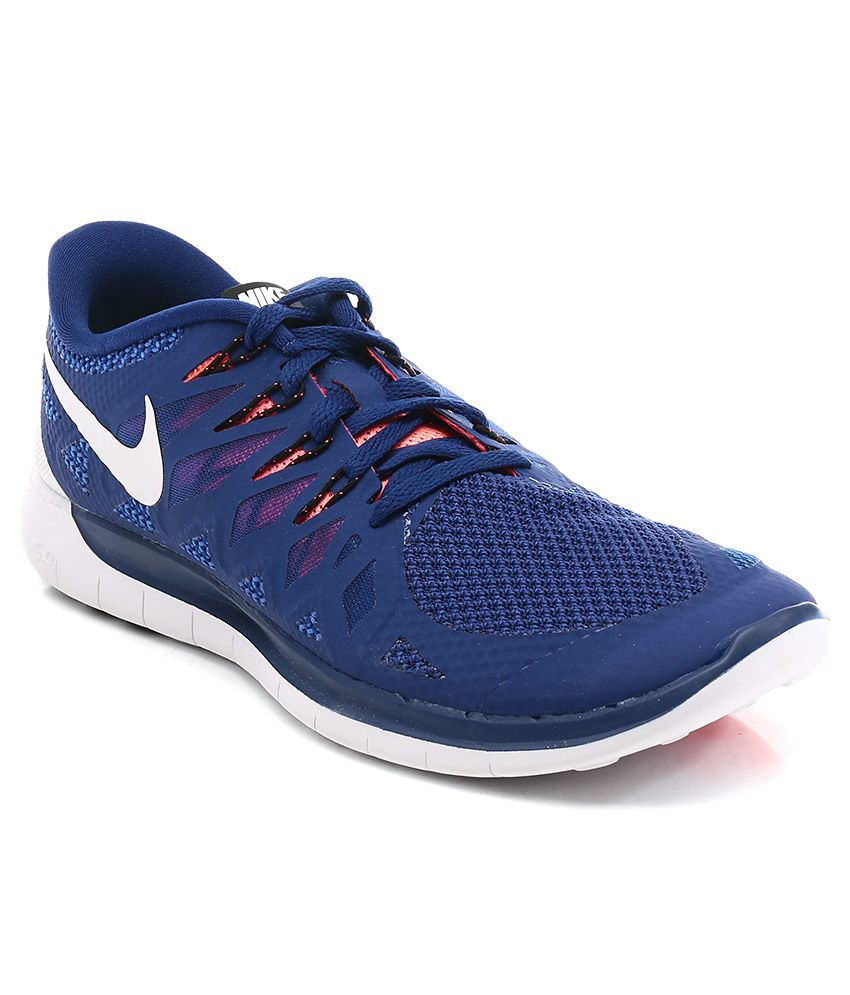 275988551d927 Nike Nike Free 5.0 Blue Sport Shoes - Buy Nike Nike Free 5.0 Blue Sport  Shoes Online at Best Prices in India on Snapdeal