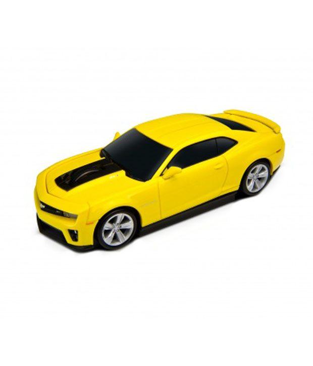 Autodrive Chevrolet Camaro Wireless Mouse Yellow Buy Autodrive