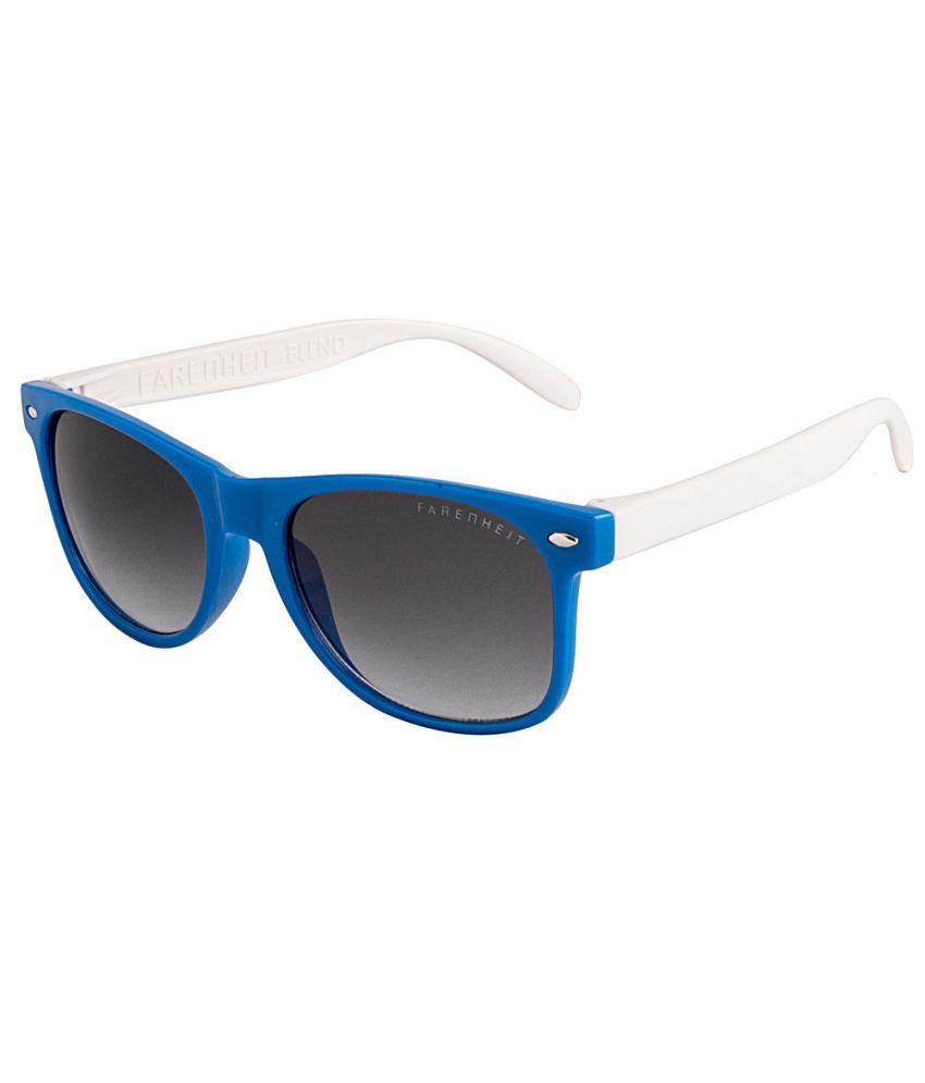 9c2e056183f7 Farenheit SOC-FA-2000-BLUE-WHITE Blue/Gray Wayfarer Sunglasses - Buy  Farenheit SOC-FA-2000-BLUE-WHITE Blue/Gray Wayfarer Sunglasses Online at  Low Price - ...