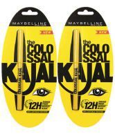 Maybelline Colossal Kajal Black pack of 3 Rs 215, pack of 5 Rs 339 - Snapdeal
