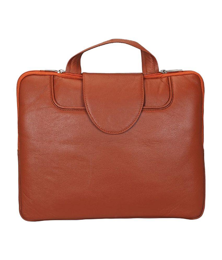 Adamis Fancy Laptop Brown Case