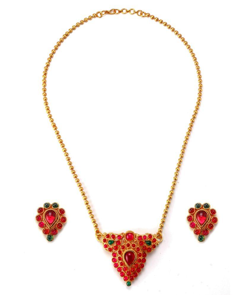 Alankruthi Execlusive Traditional Necklace Set