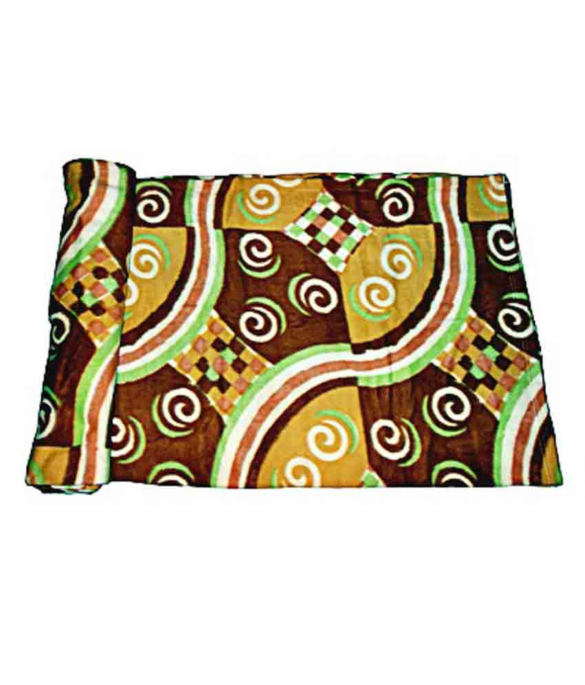 Alfa Multicolour Single Bed Printed Blanket Best Price In