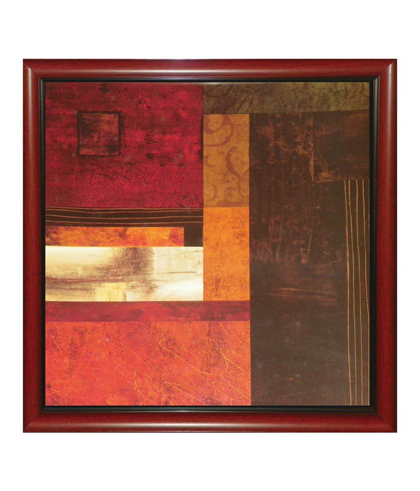 Elegant arts frames abstract multi colour framed art for Where to buy framed art
