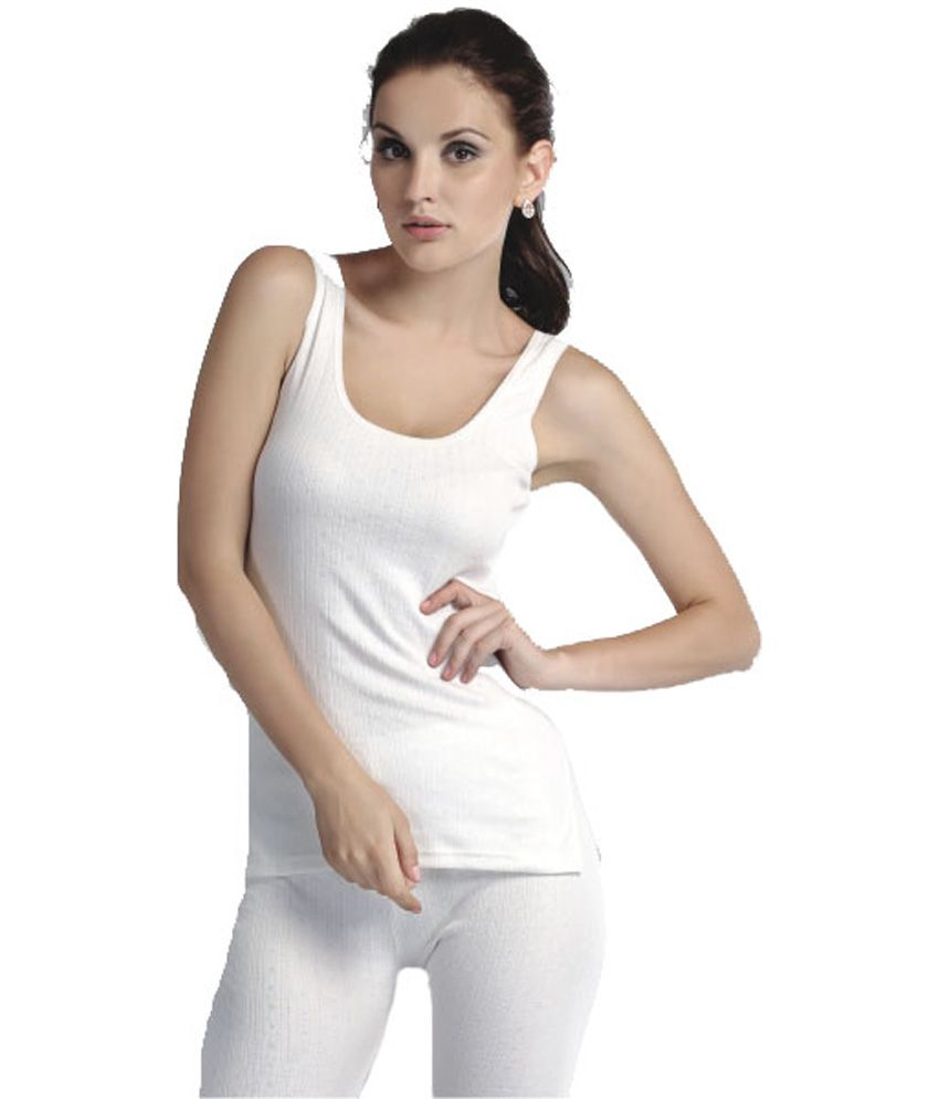 Groversons Winta Supersoft Round Neck Sleeveless Thermals