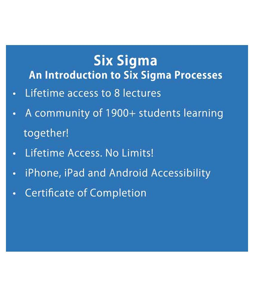 Lean six sigma green belt e certificate course oonline video lean six sigma green belt e certificate course oonline video training material xflitez Choice Image