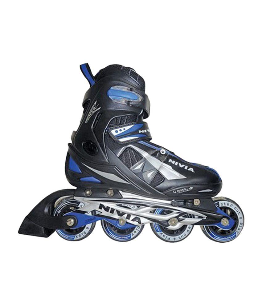 Nivia Super Inline Skates, Medium