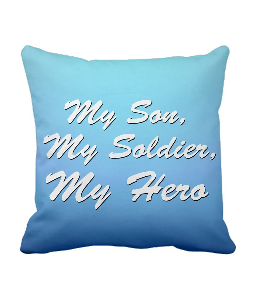 Tiedribbons My Son Blue Cushion Cover