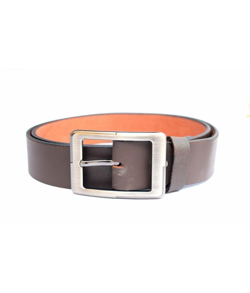 Tops Brown Leather Belt