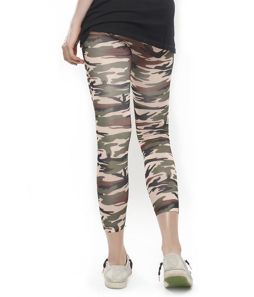 9b76dca2979f38 Buy Coucou Camouflage Print Leggings Online at Best Prices in India ...