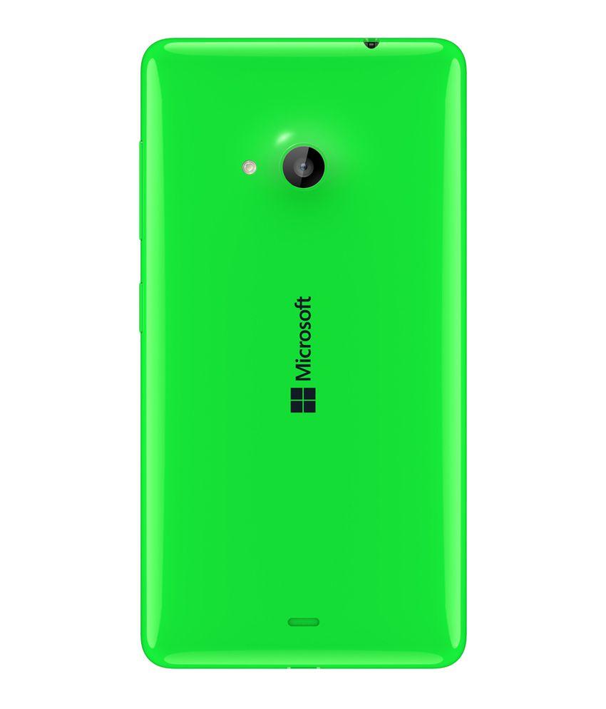 best service 60f88 19ba4 Nokia Lumia 535 Back Cover - Green