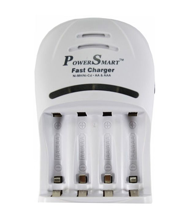 Power-Smart-Fast-Cell-Charger-(for-Ni-mh-Aa/aaa-Rechargeable-Batteries)