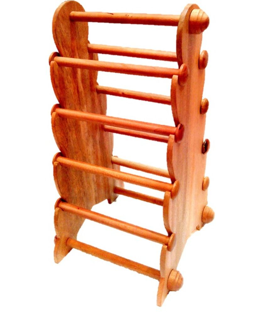 Trendzonline Wooden Bangle Stand - 8 Rods - Export Quality Finish ...