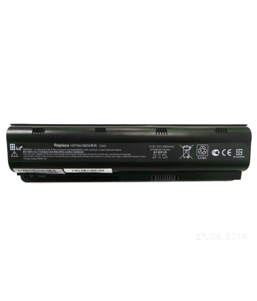 4d Hp Presario Cq42-167tx 9 Cell Laptop Battery