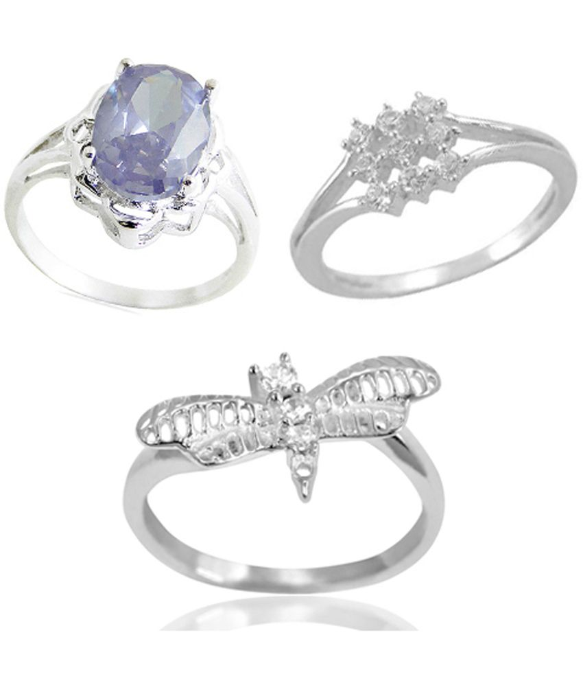 Arsh Crown Sky Dominion 5.95 CTW 925 Sterling Silver Cubic Zirconia Ring