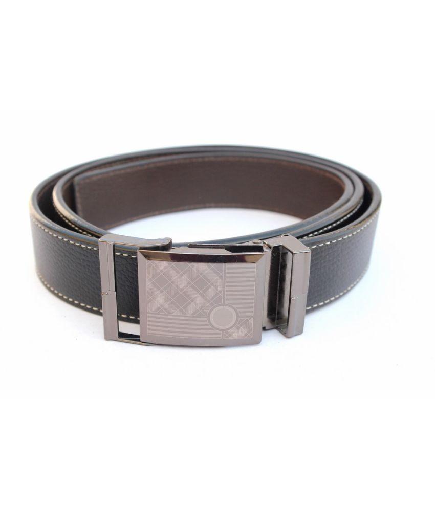IMP Black Autolock Buckle Non Leather Belts ForMen