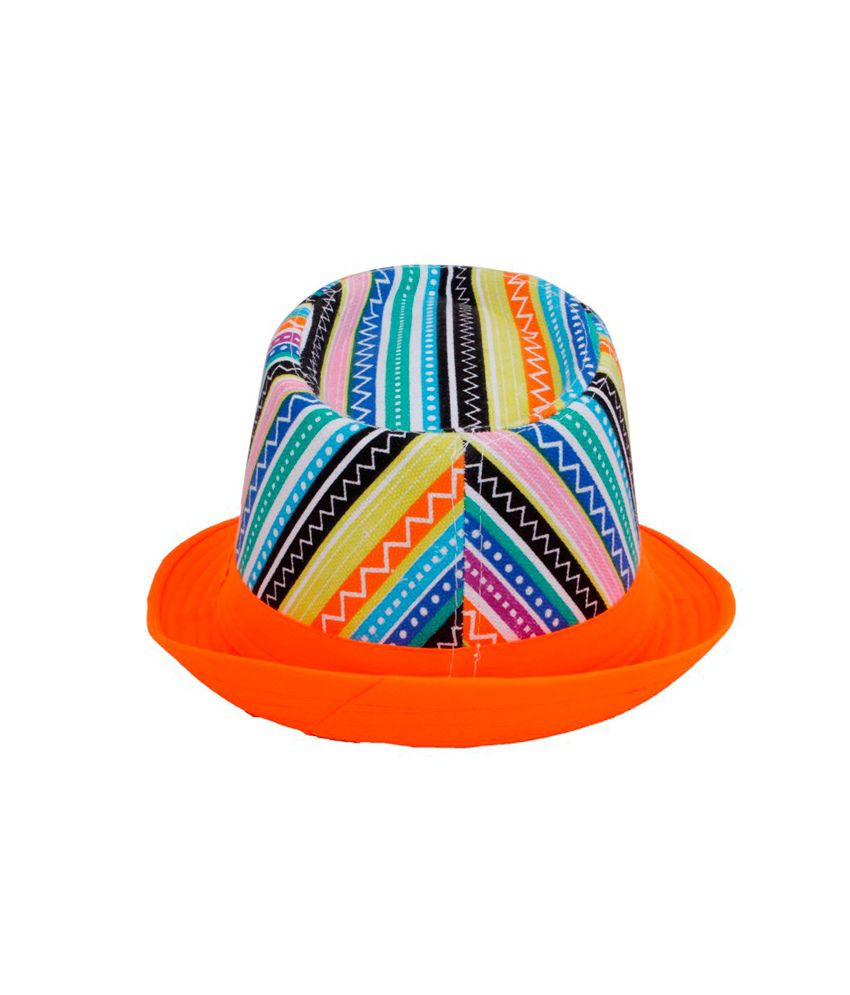 Innovationthestore Multicolor Printed Mens Hat