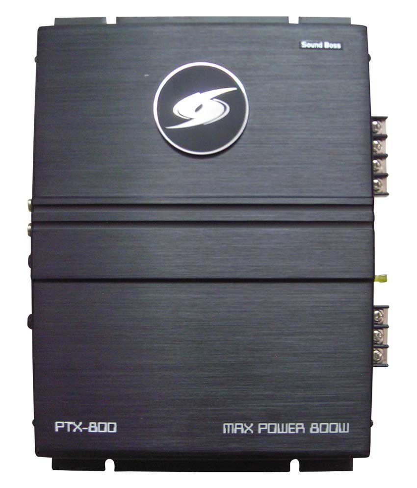 SoundBoss 400x2Watt 2-Channel Amplifier