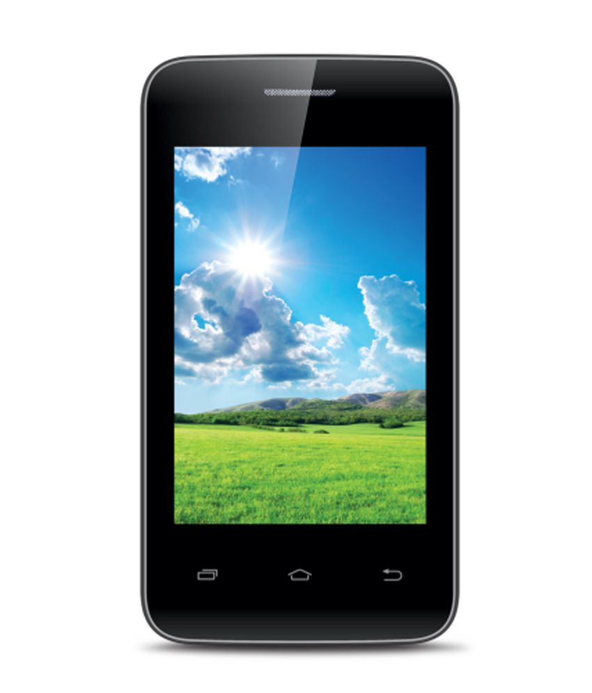 iBall BLISS 3.5U Touch Phone - grey