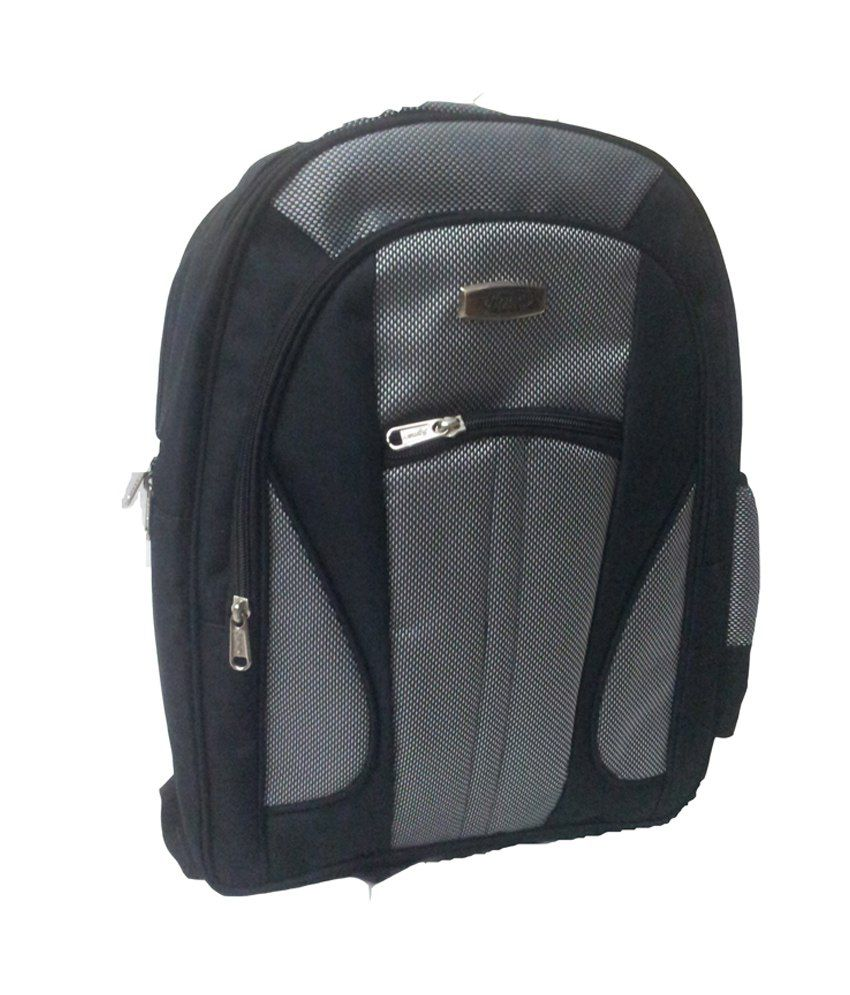 Apnav School Bag Black