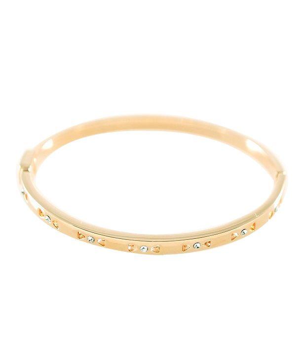 Ar Swarovski Elements 18k Gold Plated Wonderful Style Diva Bracelet