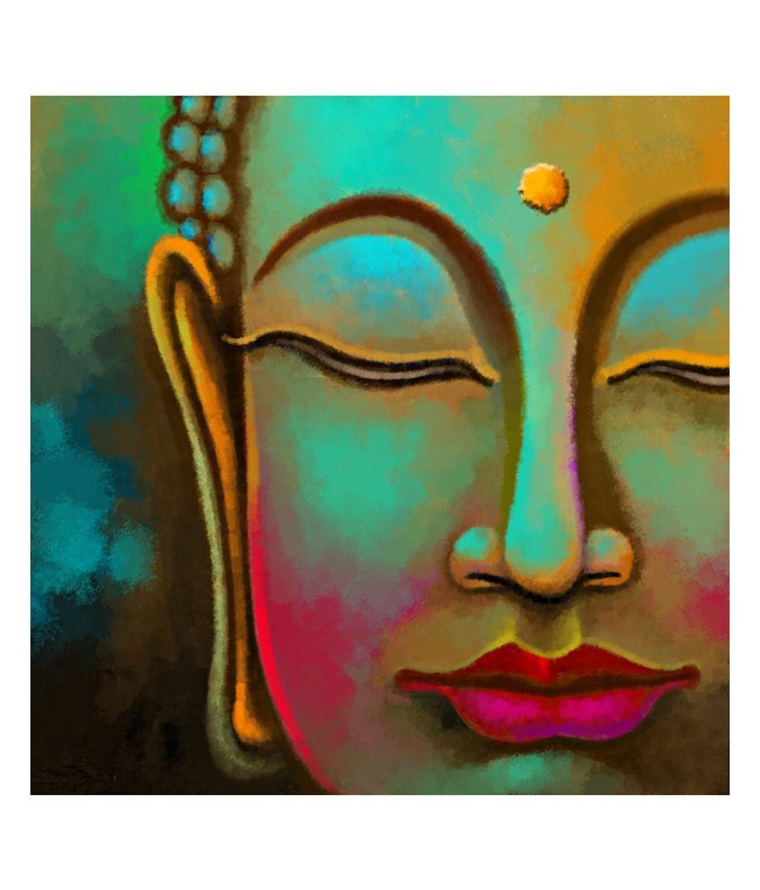 Art Factory Buddha Canvas Painting: Buy Art Factory Buddha ...