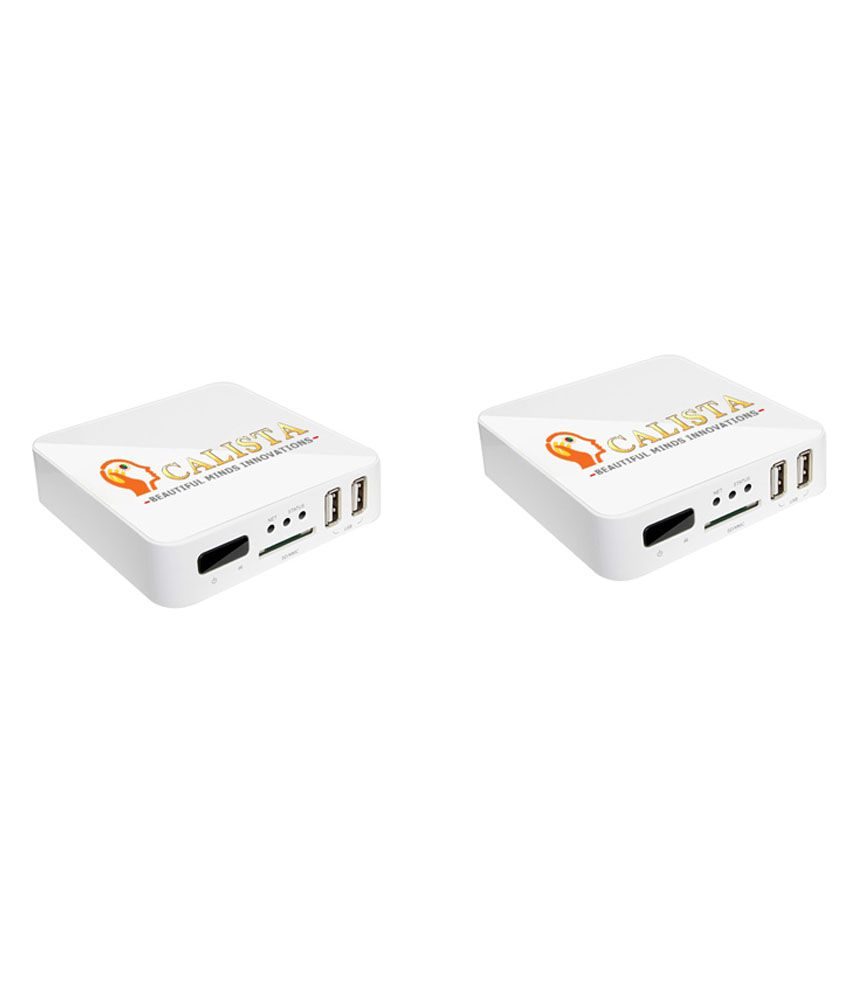 Buy Calista android smart box combo of 2 Online at Best Price in