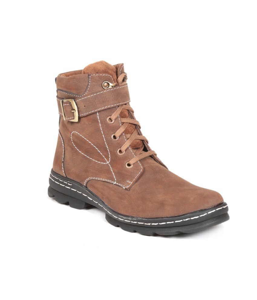 D Vogue Brown D Vogue Boots