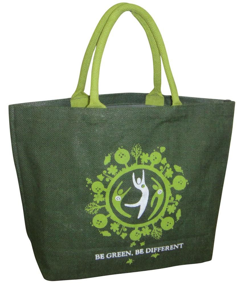 Earthbags EB36Green Green Tote Bags