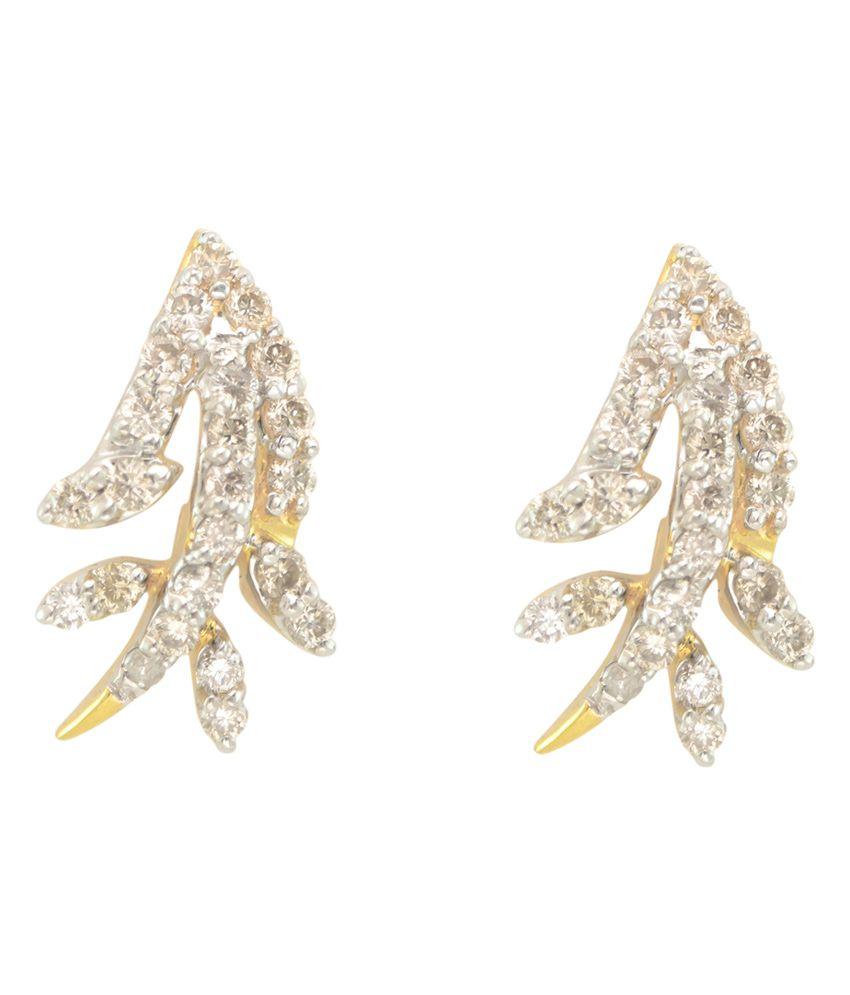 Paliwal Jewelers Snow-moss Earrings