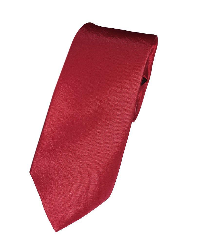 Park Avenue Blood Red  Neck Tie