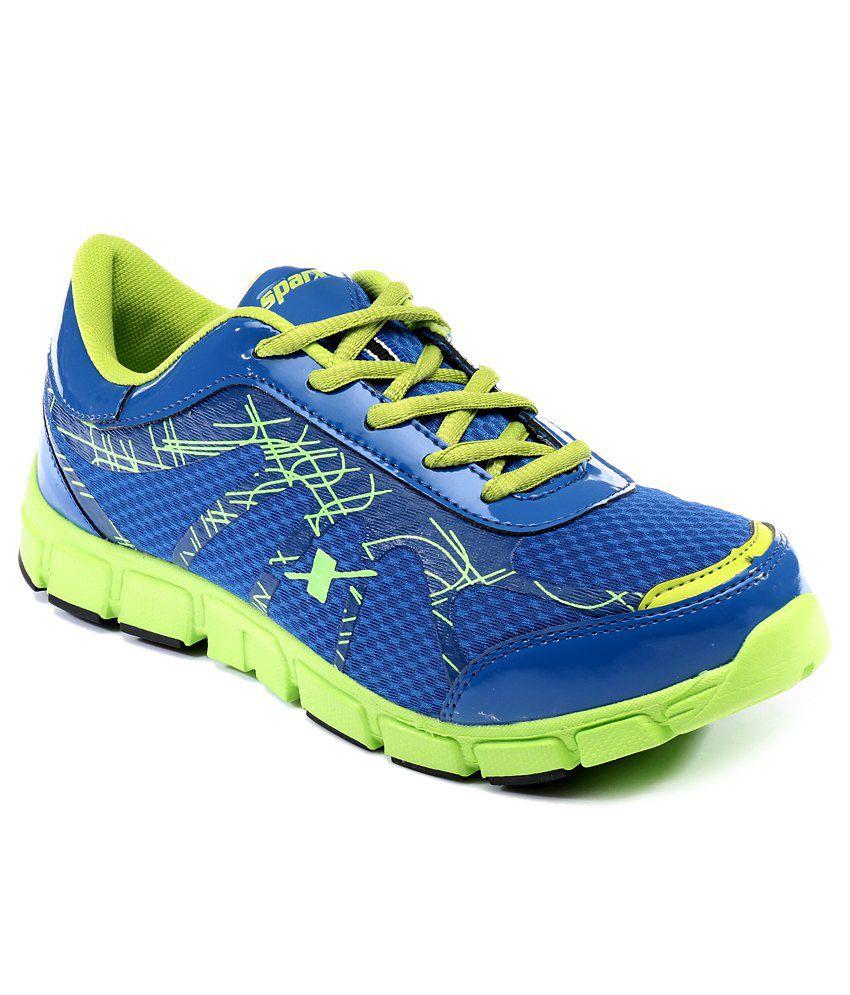Sparx Blue Sport Shoes