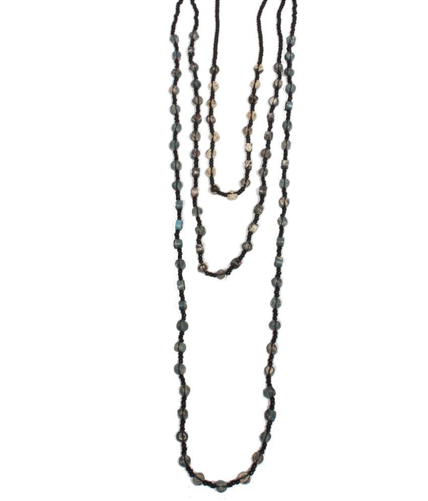 Divyan Black Neck Pieces Eco-Set Of 3