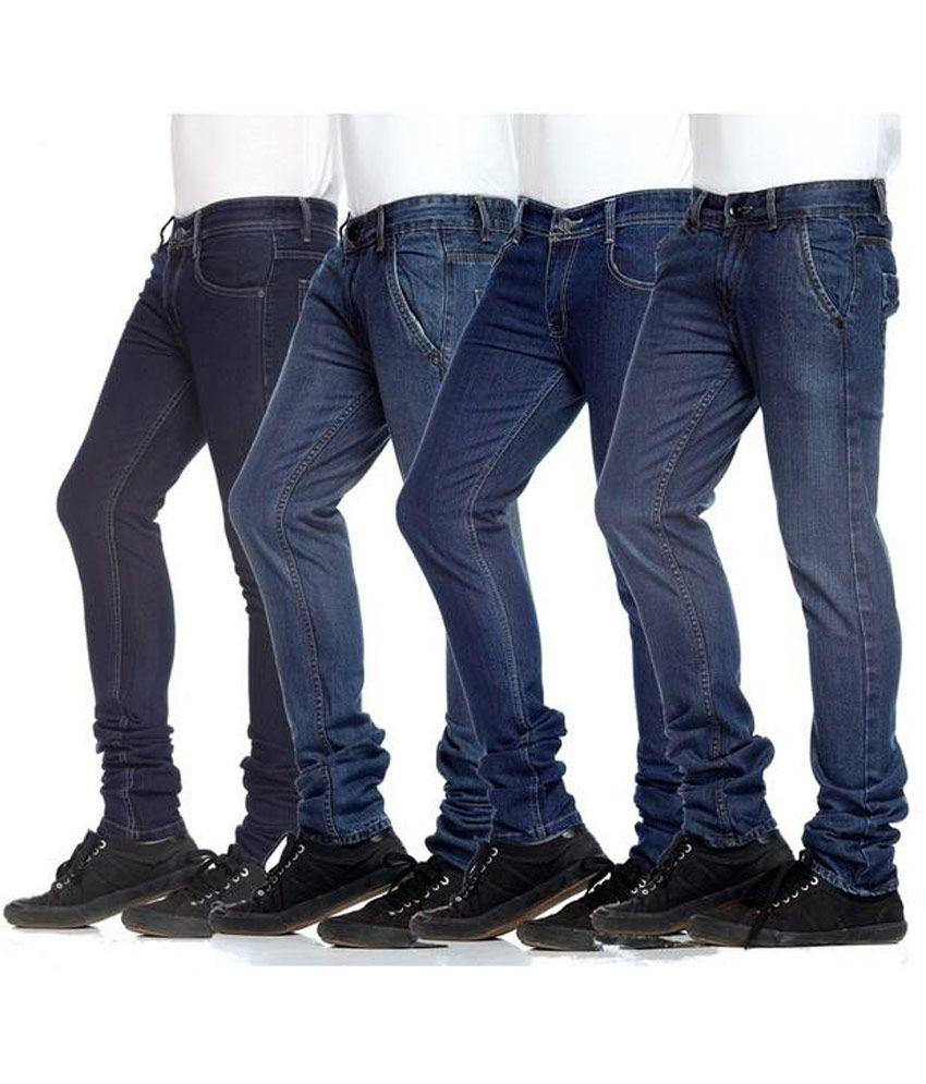 Men's Denim(pack Of 4)