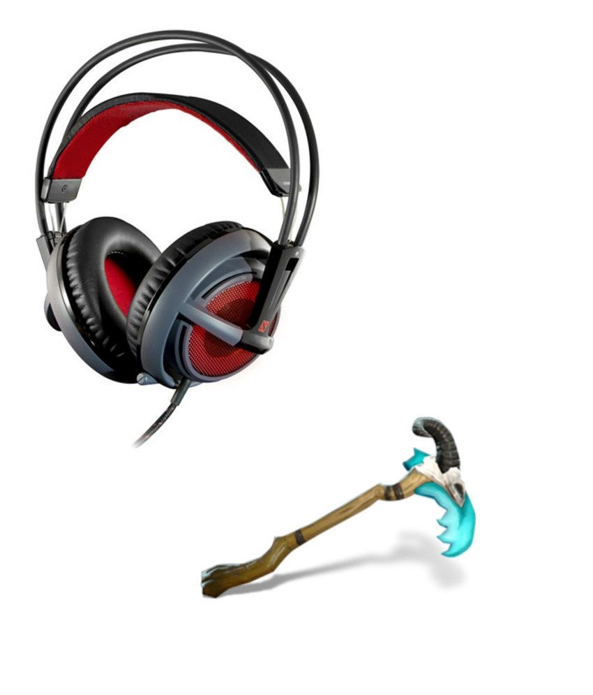 Buy Steelseries Siberia V2 Headset Dota 2 Edition Free Scythe Of Vyse Online At Best Price In India Snapdeal