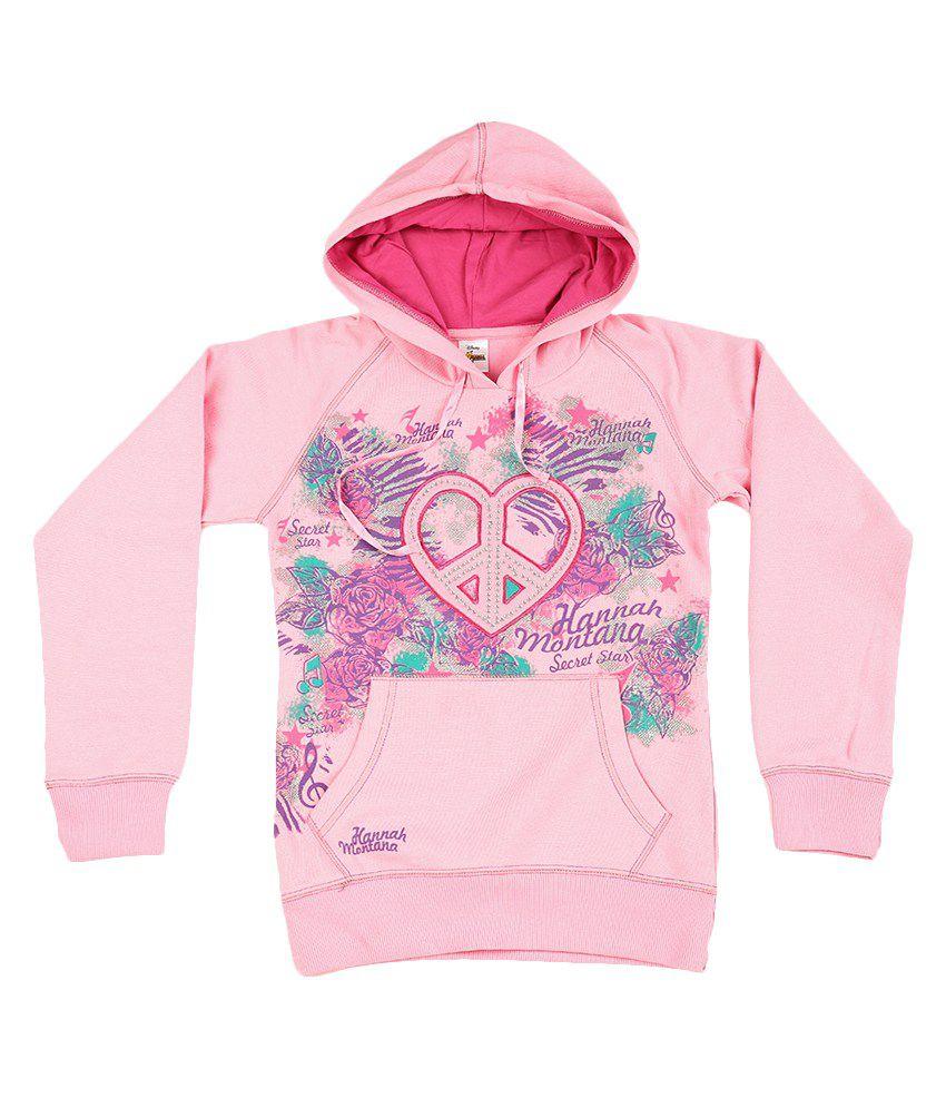 Disney Pink Graphic Cotton Sweatshirt