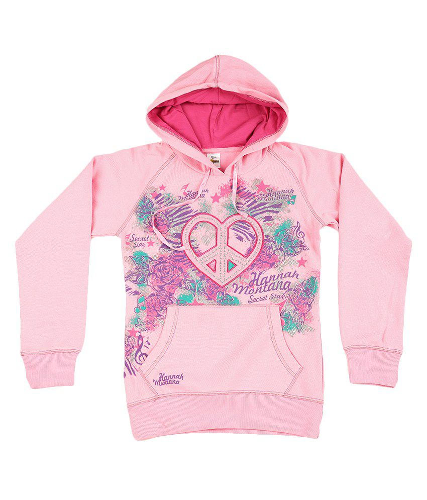 Disney Pink Graphic Cotton Sweatshirt
