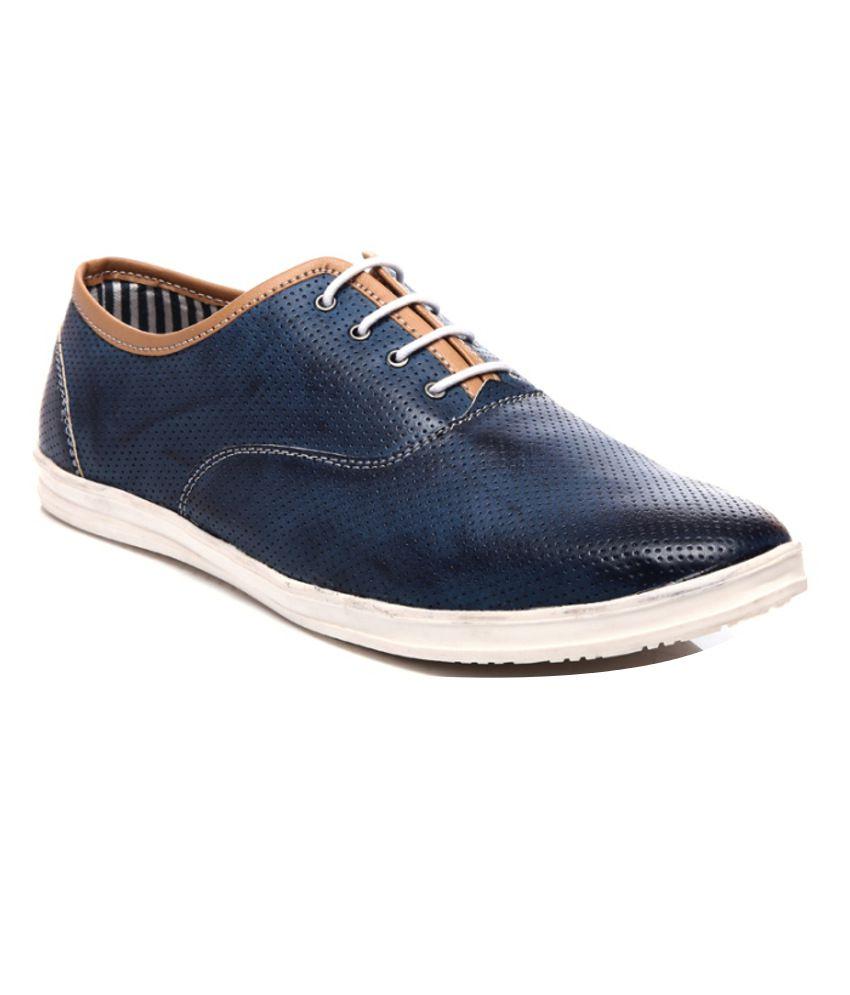 Juan David Blue Sneaker Shoes