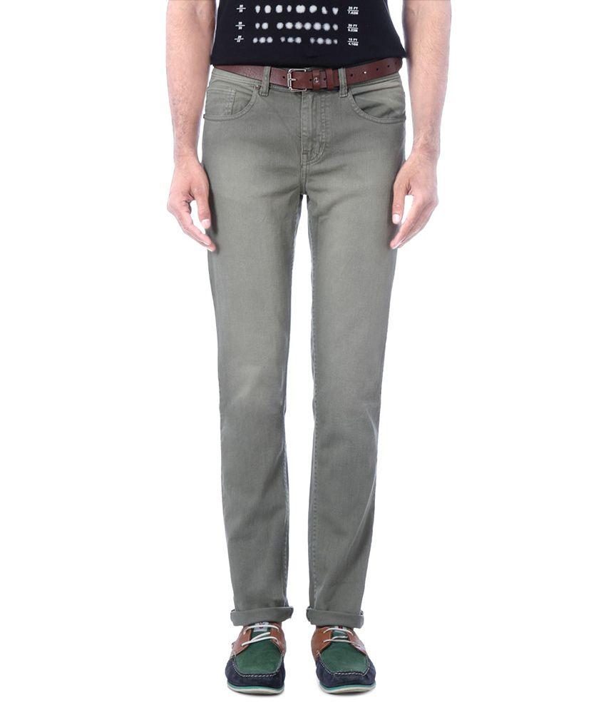 People Gray Regular Jeans