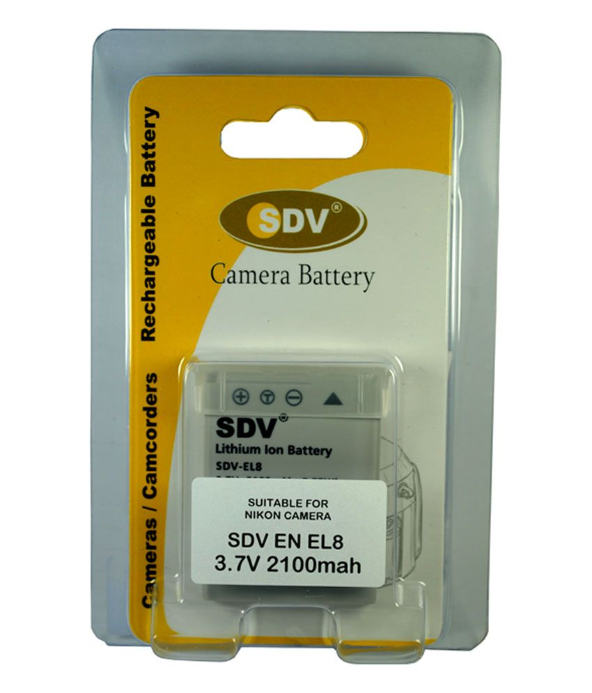 ... SDV SDV BAT NIK ENEL-8 2100 mAh Rechargeable Battery 1