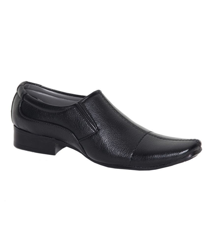 cheap sale huge surprise discount very cheap Leeport Black Synthetic Leather Formal Shoes GNs2EMDY