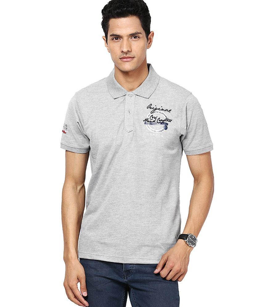Cloak & Decker by Monte Carlo Gray Cotton Blend T-shirt