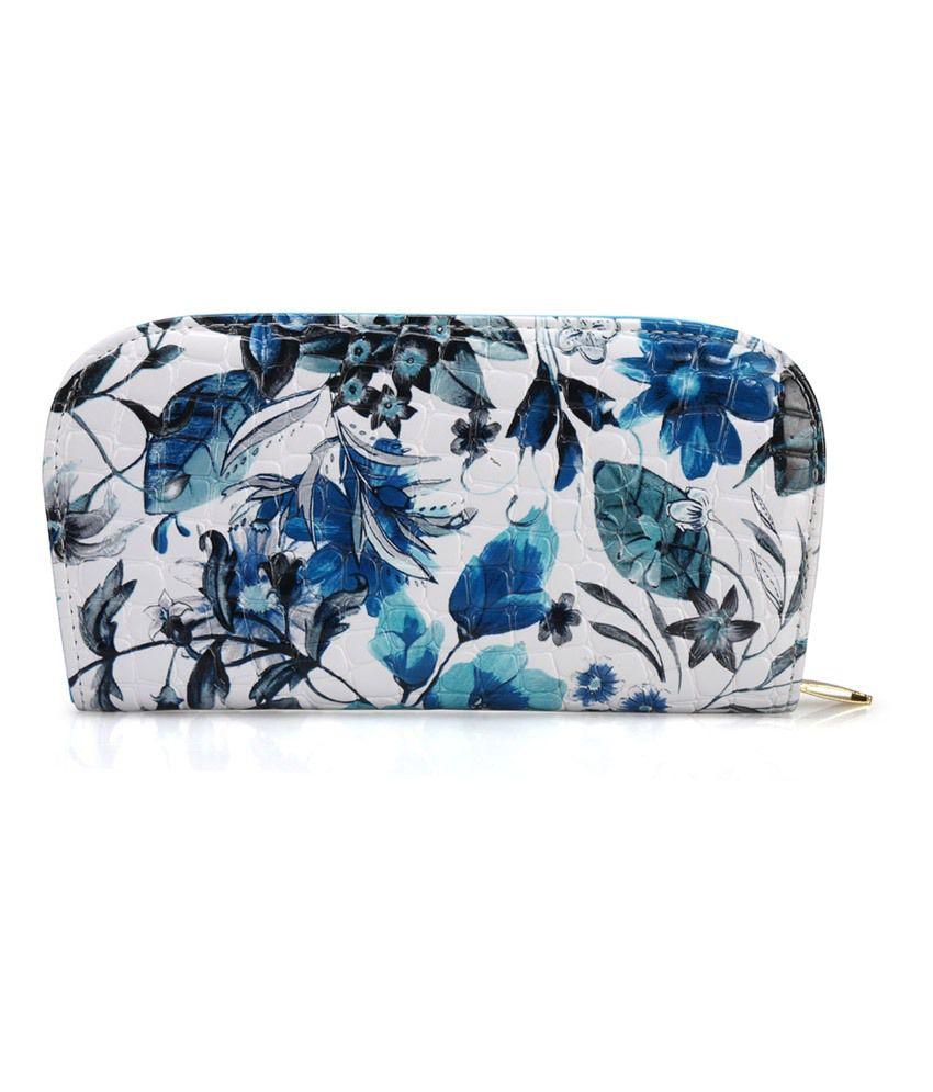 Bags Craze Blue Stylish & Sleek Clutch