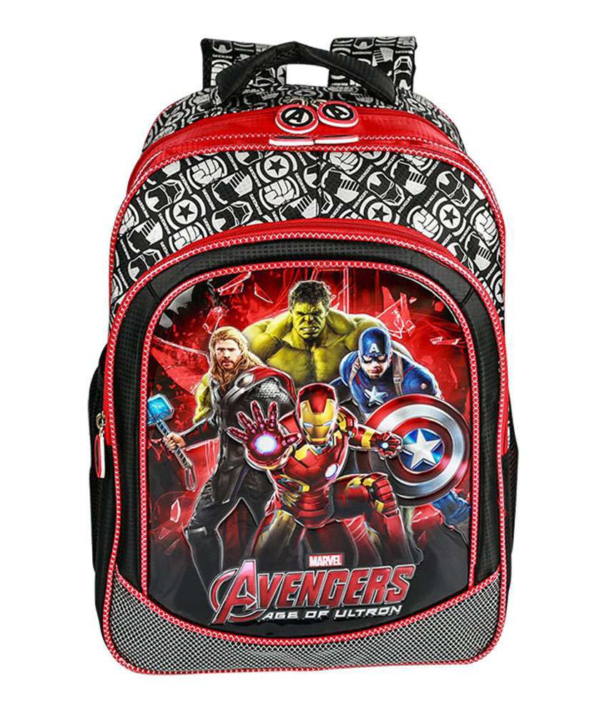 Disney Avengers Age Of Ultron Group Art Backpack