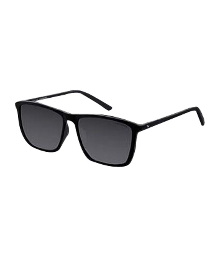 Fastrack Black Wayfarer Sunglasses  fastrack wayfarer p271 bk1 black sunglass art ftep271bk1