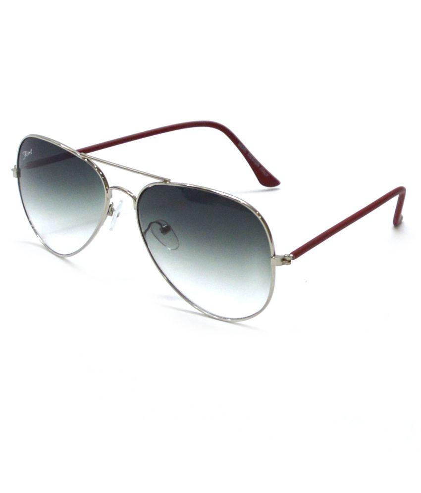 Flirt Green Designer Avaitor Sunglasses For Men