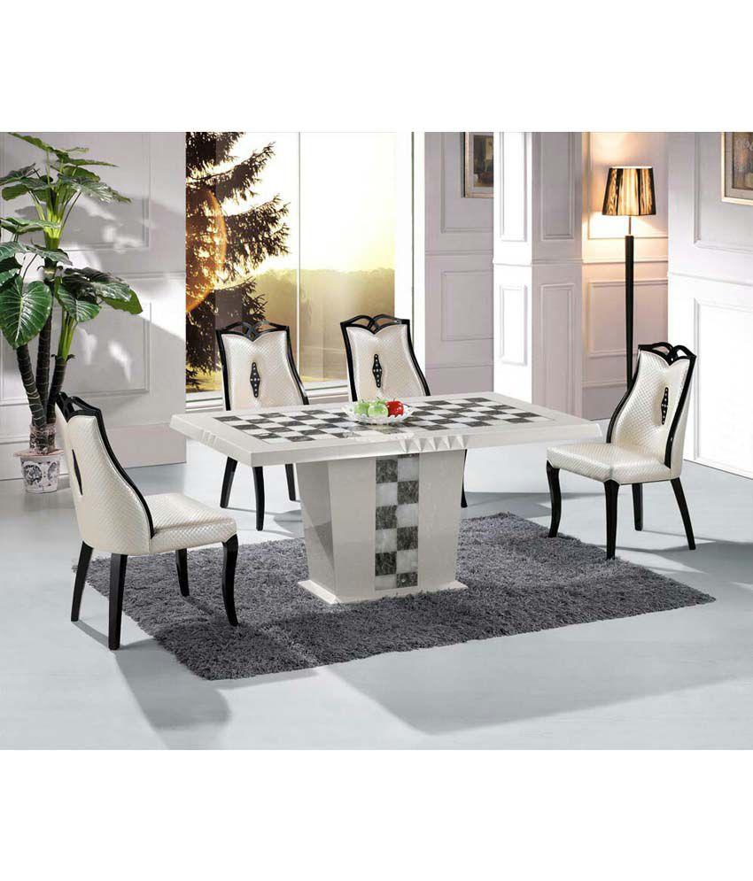 muebleria white marble dining table buy muebleria white
